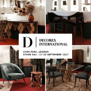 DECOREX INTERNATIONAL | In partnership with Covet House, BRABBU is getting ready to show the latest trends at this year's Decorex International. At Stand G41 and at our Covet London Showflat, book your meeting to see our pieces live, meet our UK product specialists and find the