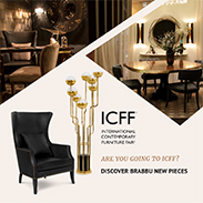 ICFF 2018 | ICFF 2018 couldn't get any better! For four amazing days, kicking off on May 20th, all the cool kids in design know that Booth 1719 is the place to be if going to Jacob K. Javits Convention Center. Along with its sister brands, BRABBU exhibits great piece