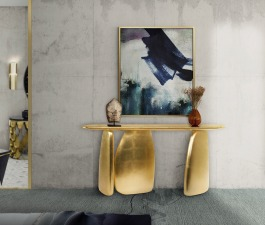 This modern contemporary furniture piece ARDARA has a finish in golden leaf, bringing with it a peaceful sensation. PHONG Wall Light will create an inviting classy ambience that will progressively rev
