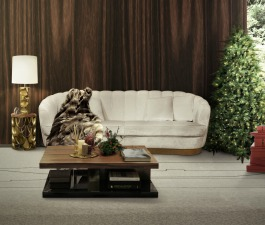 A nature inspired living room set with PEARL contemporary sofa that offers a delicate and surprising touch, This art deco inspired piece will bring a warm and cosy feeling to your living room set.