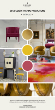 Intricacy is all about neutral metallics, also know as the ''new neutrals'' while pops of colour, such as Holy Berry and Yellow Sulfur, add drama.