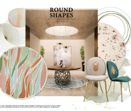 Round Shapes Mood Board