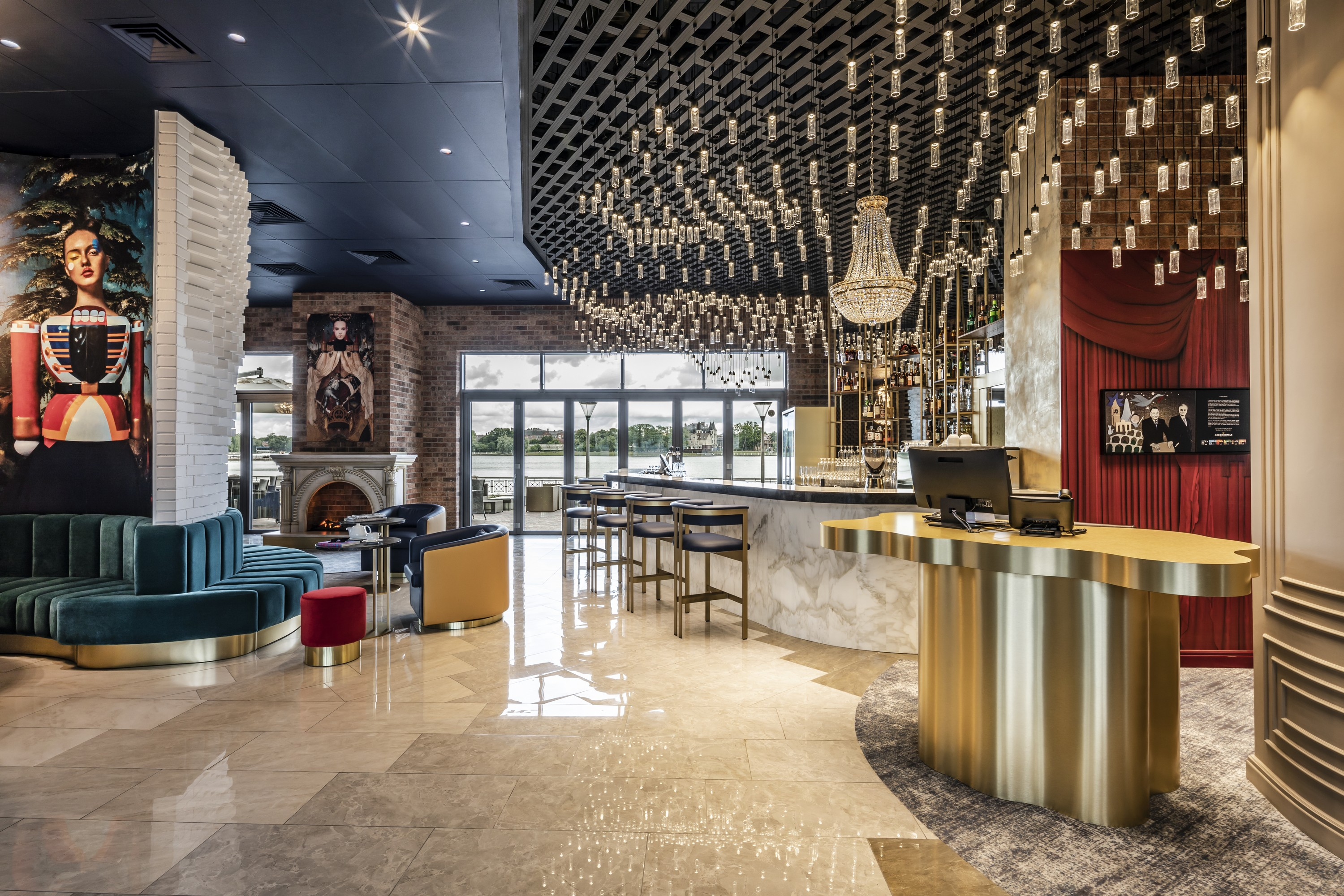 Hotel Mercure Kaliningrad - A tale of magical hospitality design