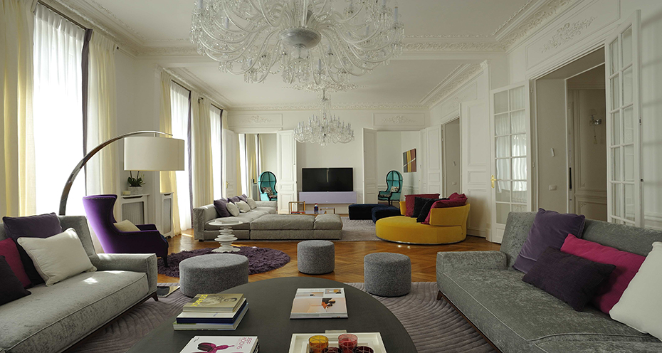 Arty Chic Apartment By PFB Design