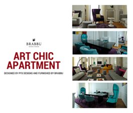 Art Chic Apartment Designed By PFB Design