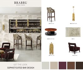 Get The Look: Sophisticated Bar Design